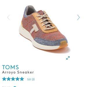 NWT Toms arroyo sneaker